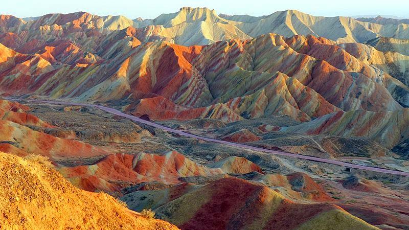 Zhangye Danxia, Gansu Province, China