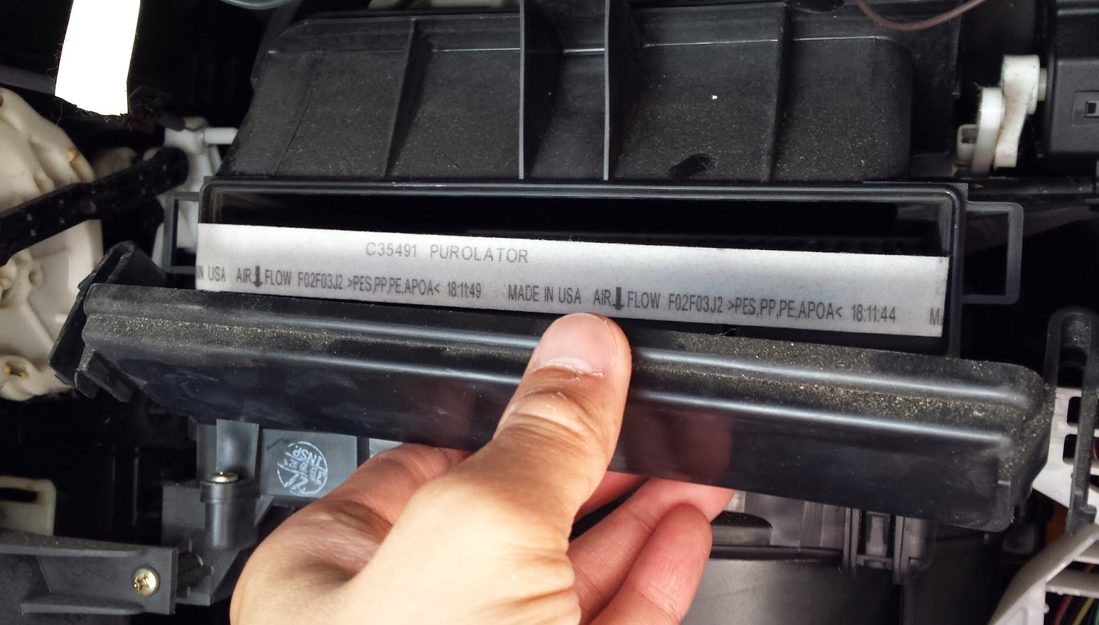 Change in cabin air filter 2003 corolla toyota nation forum toyota car and truck forums