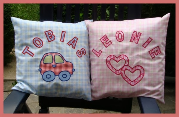 Kussen Met Naam : Geboortekussen hart kussen roze zilver brocant met naam