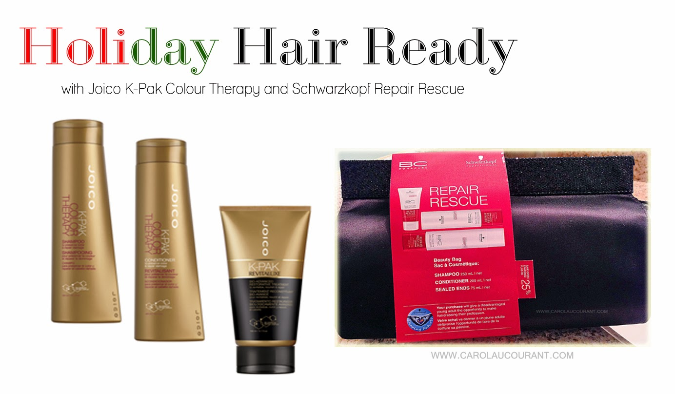 Colour therapy for beauty - Get Holiday Hair Ready With Schwarzkopf 2013 Bc Beauty Bags And Joico K Pak Colour Therapy Giveaway