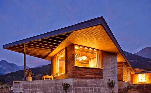 Casa Corcolenda diseñada por los arquitectos Manuel Dorr y Pablo Schmidt 1