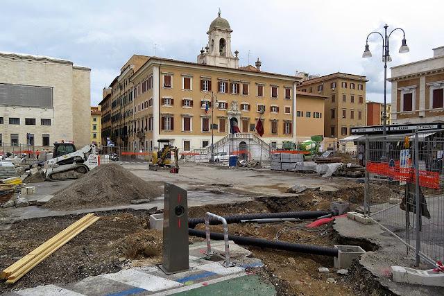 Piazza del Municipio, Livorno