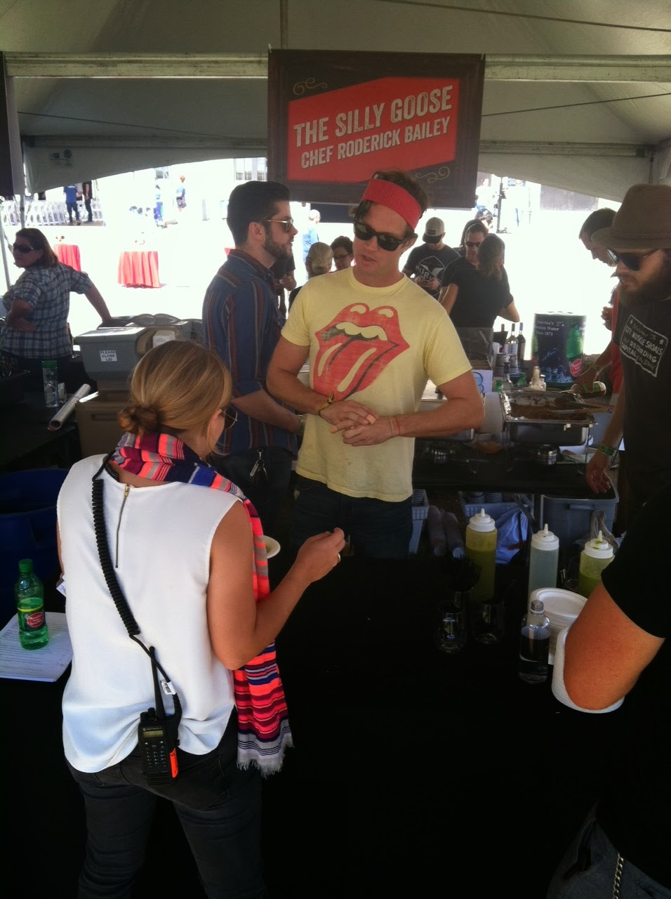 The Silly Goose at Music City Eats Food Festival in Nashville Tennessee