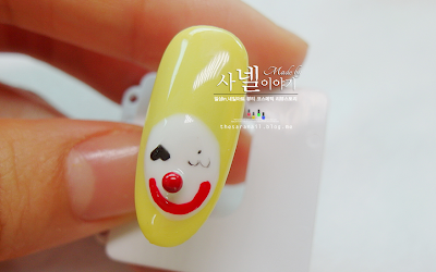 Pierrot nail art, Pierrot Gel Nail Polish