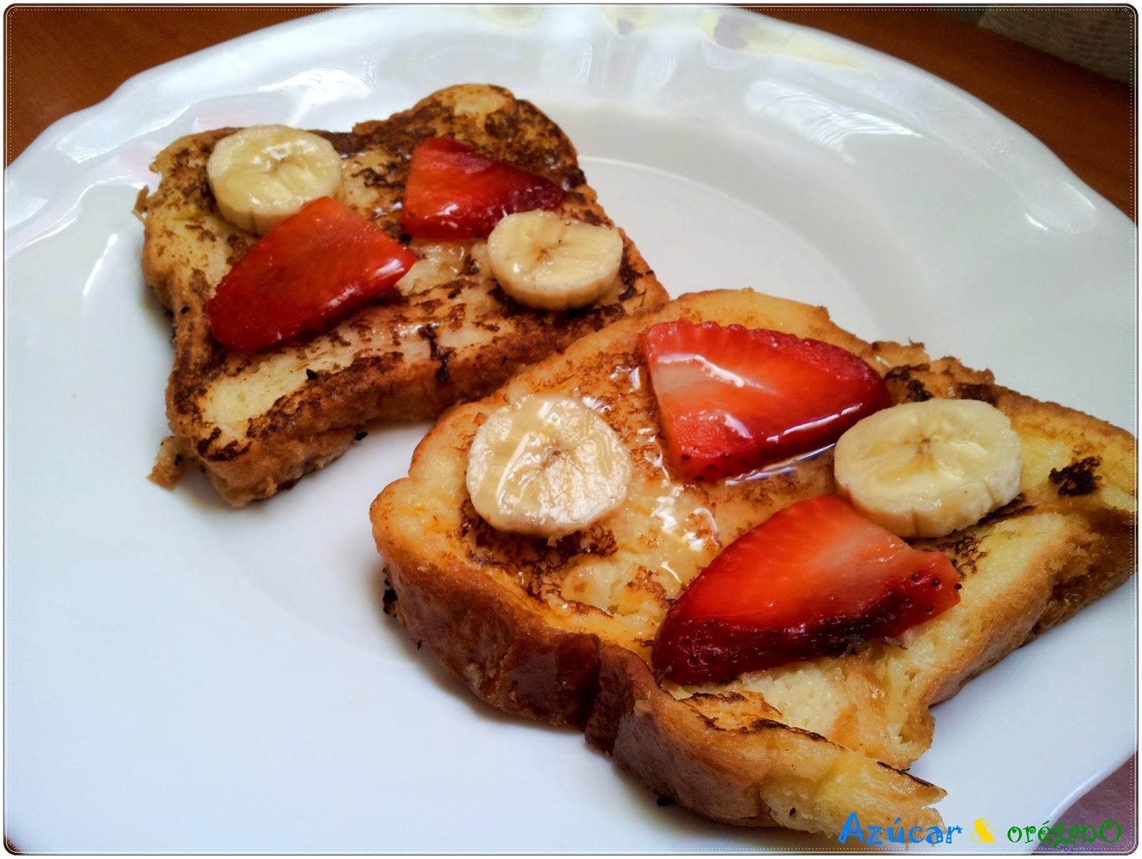 Recetas de az car y or gano desayuno franc s for Desayuno frances tradicional