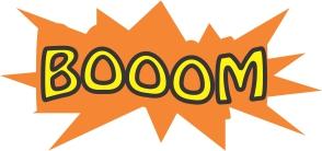 Boom (algo explodindo)