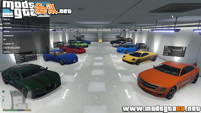 V - Mod Garagem no Single Player