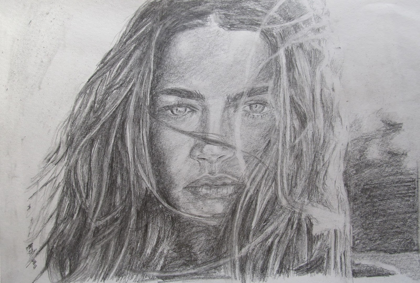 This a pencil sketch of denise richards more information on this celebrity can be found on wikipedia on the below link