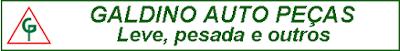 GALDINO PEÇAS AUTOMOTIVAS Rua. Salvador de Oliveira Leme, 415 Jardim Itália - Itapetininga - SP tel: (15) 3373-3776