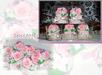 Flowery cuppies for doorgift