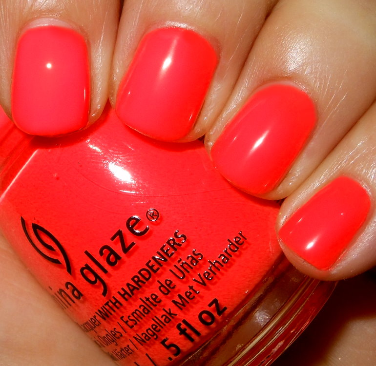 Imperfectly Painted: China Glaze Red-y to Rave