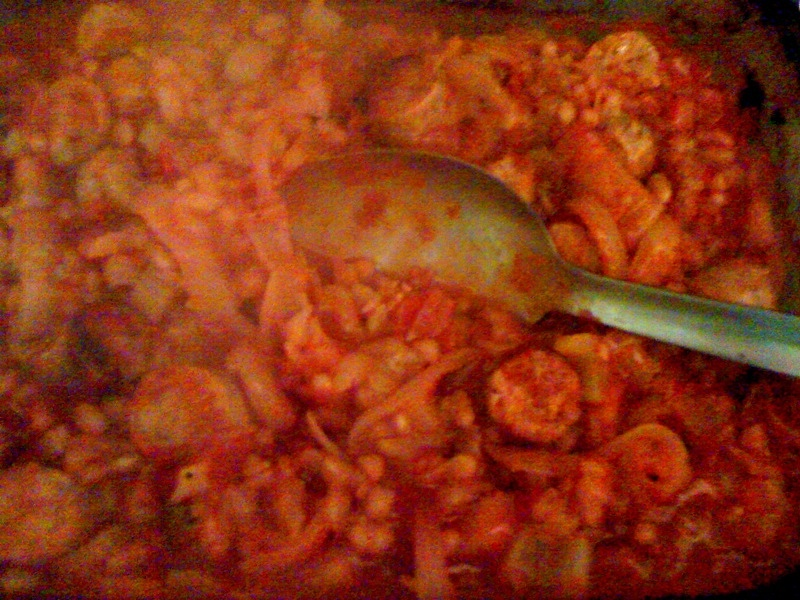 Good gobble!: Baked Bean and Sausage Casserole
