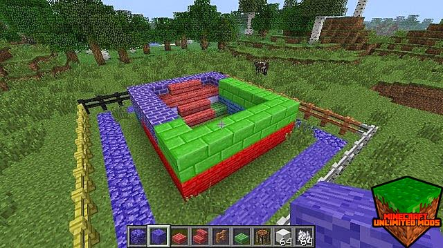 Colored Blocks Mod