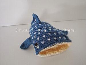 Whale Shark Amigurumi : Chiwaluv Amigurumi Critters: Whale Shark