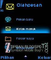 tema s60v2 blue neon
