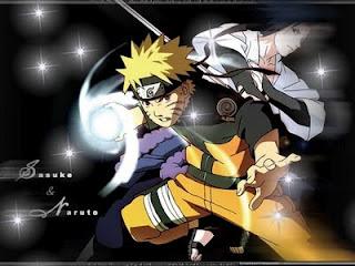 Naruto and Sasuke. The Battle Begins: Naruto vs. Sasuke (オマエと戦いたい!ついに激突 サスケVSナルト, Omae to Tatakaitai! Tsui ni Gekitotsu Sasuke tai Naruto)