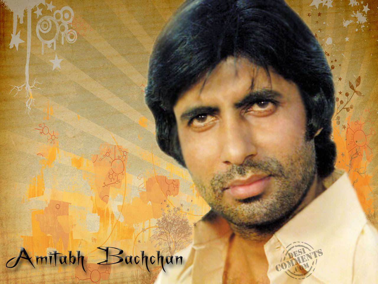 Amitabh Bachchan - Wallpaper Actress