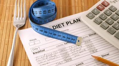 Contoh diari makanan harian