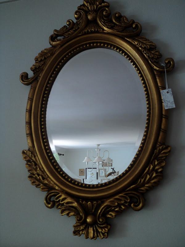 Paz montealegre decoraci n espejos provenzal normando for Espejo ovalado plata