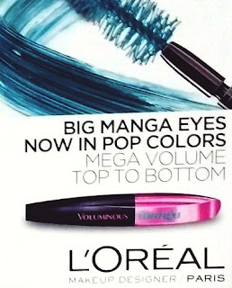L'Oreal Spring 2015 Limited Edition Miss Manga Color Pop Mascara! Nowosc!