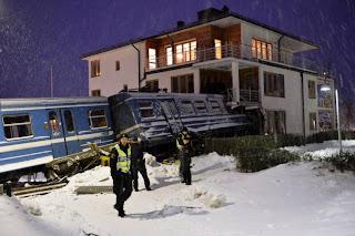 roban tren en suecia
