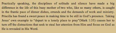 discipline of solitude reflection