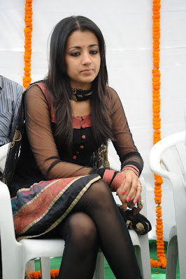 Trisha Latest stills from a Telugu Movie launch