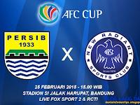 Persib vs New Radiant AFC Cup 2015