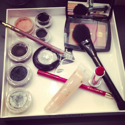 Lancôme make-up artist for Macy's Glamorama fashion in a new light