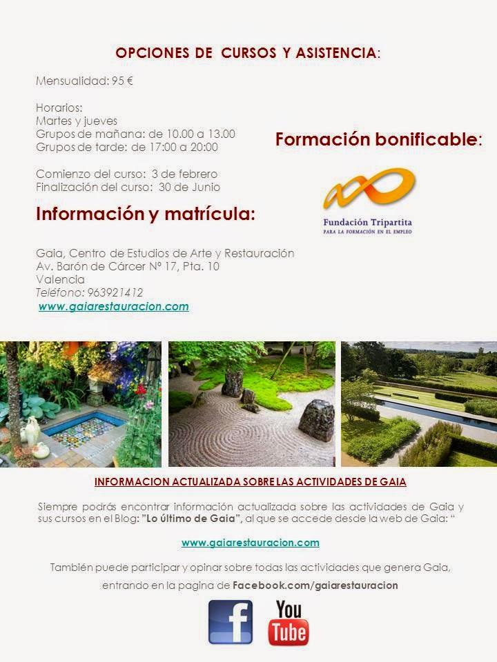 Aprende a dise ar jardines con nuestro curso de paisajismo for Curso paisajismo