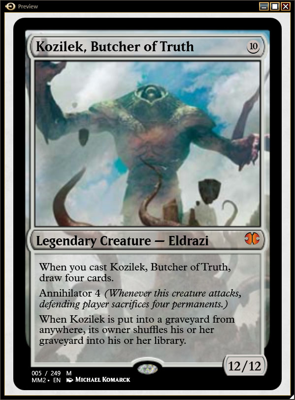 Ulamog the Infinite Gyre Rise of the Eldrazi  Gatherer