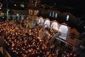 Η Λαμπρά ημέρα της Αναστάσεως στον Ι.Ν. του Αγίου Αντωνίου (φωτο)