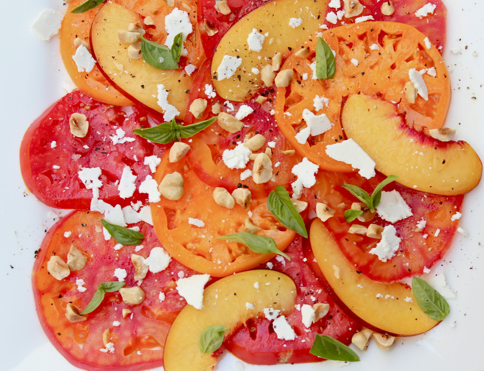 Heirloom Tomato And Nectarine Salad Recipes — Dishmaps