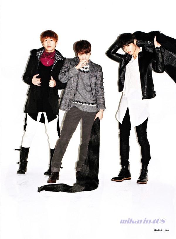 SHINee for Switch magazine volume 31