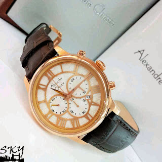 Jam Tangan AC6310 Swasa Leather