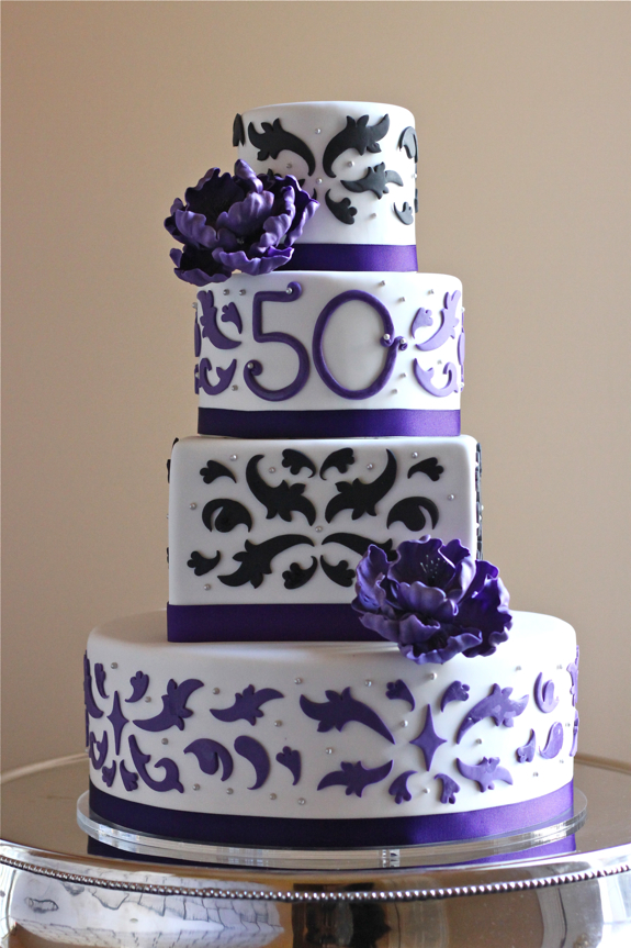 50th Birthday Cake The Couture Cakery