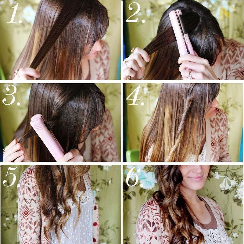 Волны волосы в домашних условиях