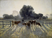 July inspiration is Spring Frost Study by Elioth Gruner