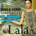 Sana & Samia Crinkle Embroidered Dresses by LALA | Eid 2015 Dresses