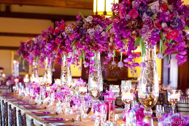 [Déco Ephémère] Tables => Par Couleur Wedding-decor-long-table-7