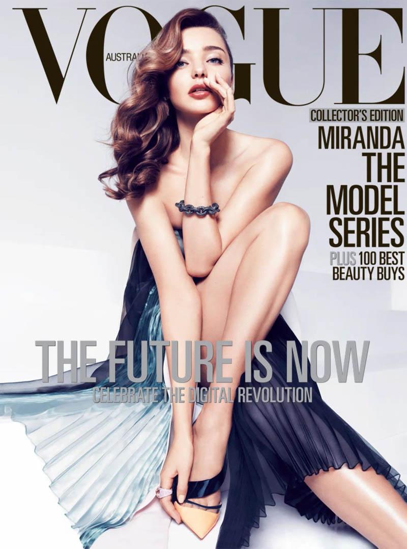Miranda Kerr39s Vouge Australia Shoot Medium Hairstyle Fashions