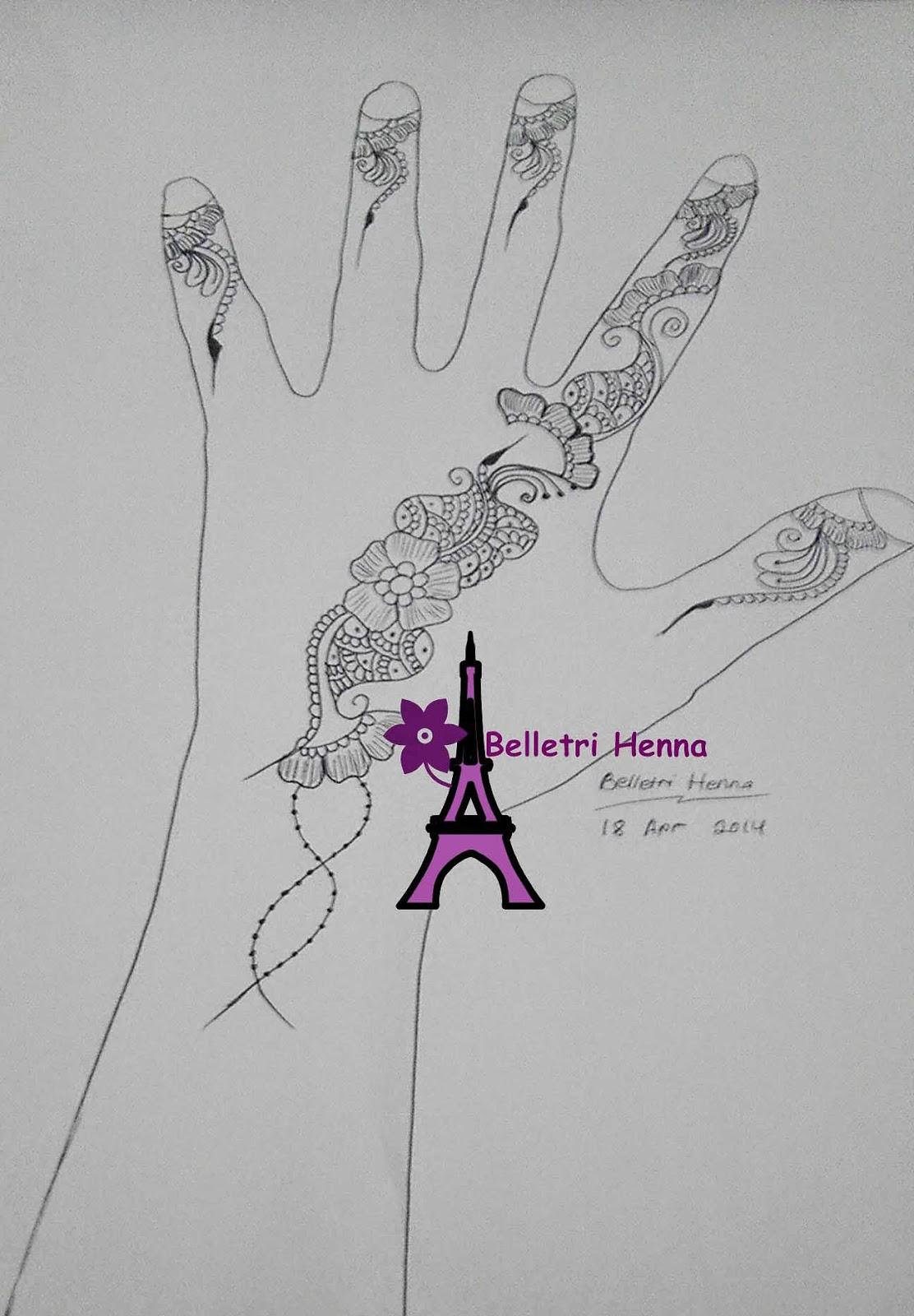 BELLETRI HENNA BELAJAR MELUKIS HENNA BY BELLETRI HENNA