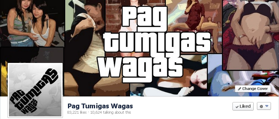 PAG TUMIGAS WAGAS