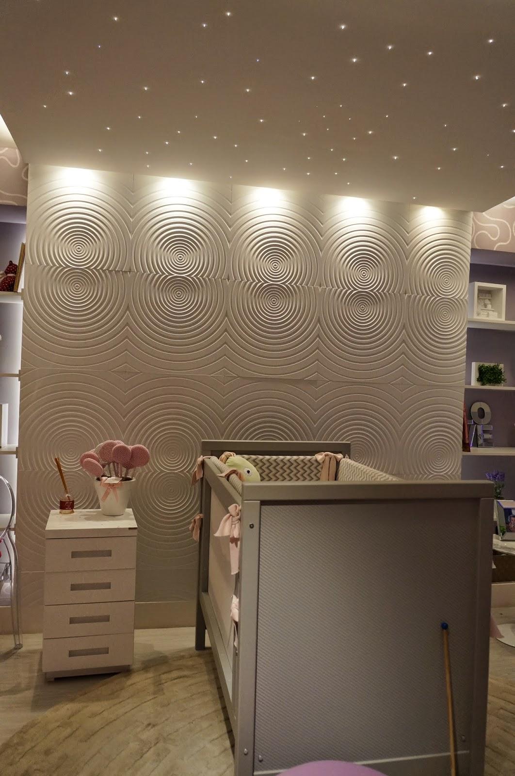 ambiente quarto de bebê - Raquel Kabbani - iluminação para cenário do quarto de bebê - Casa Cor SP 2014