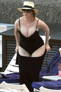 Christina Hendricks Swimsuit Candids