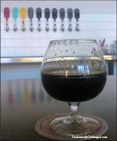 Imperial Stout fresh off the tap