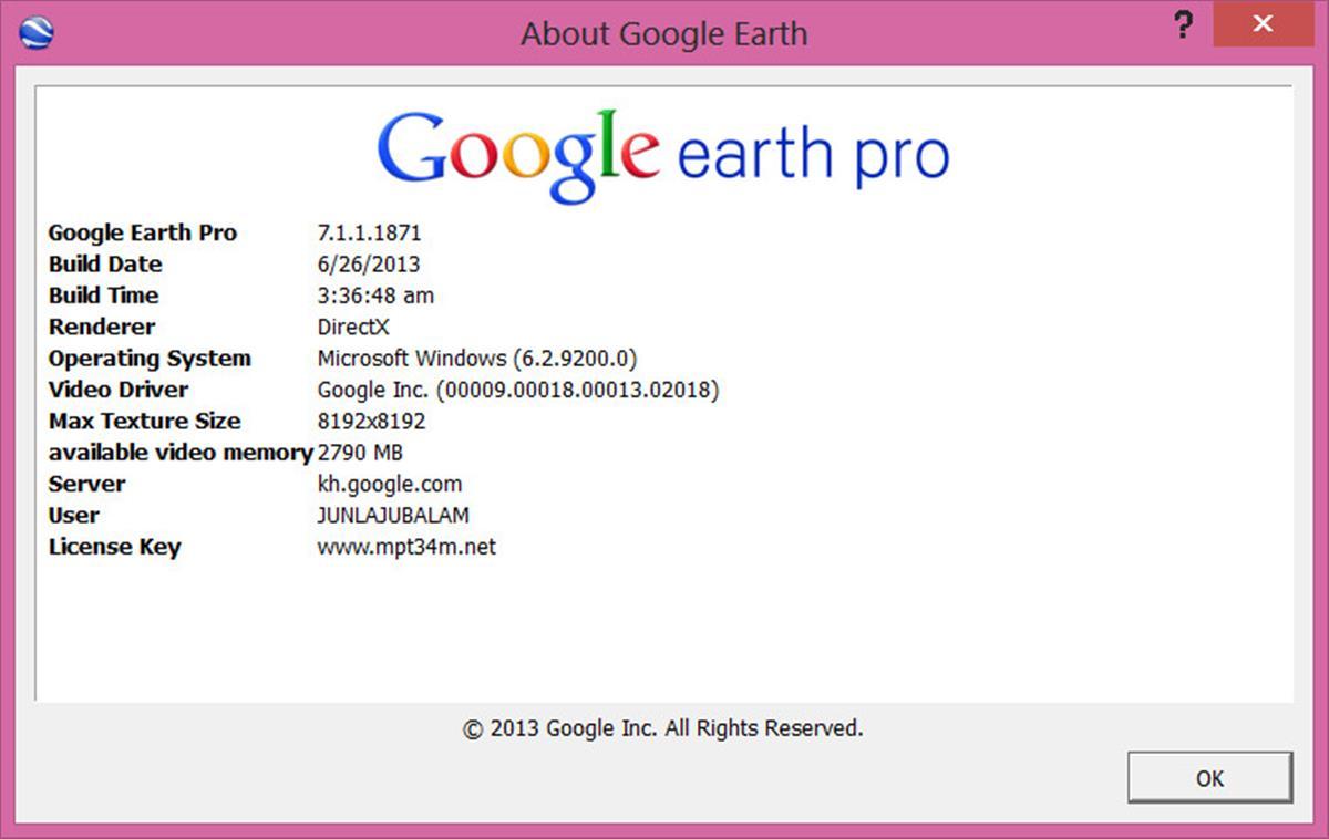 Google earth pro 7.1.1.1871 final patch mpt chingliu