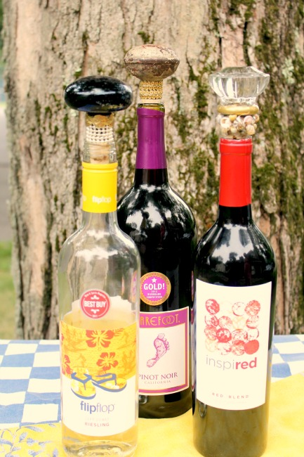 Turn Old Door Knobs Into Fun Wine Toppers Crafts a la mode