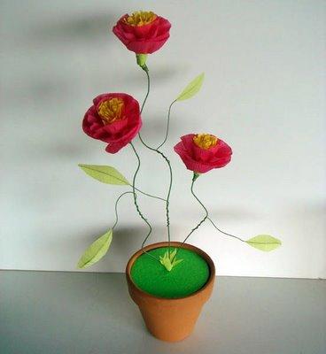 Rosas De Papel Paso A Paso Cositasconmesh