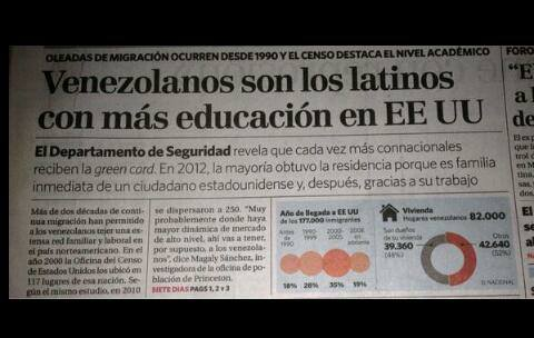 """Reportaje del Diario """"EL Universal"""""""